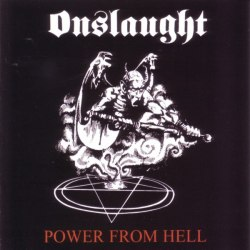 ONSLAUGHT - Power from Hell CD Speed Thrash Metal