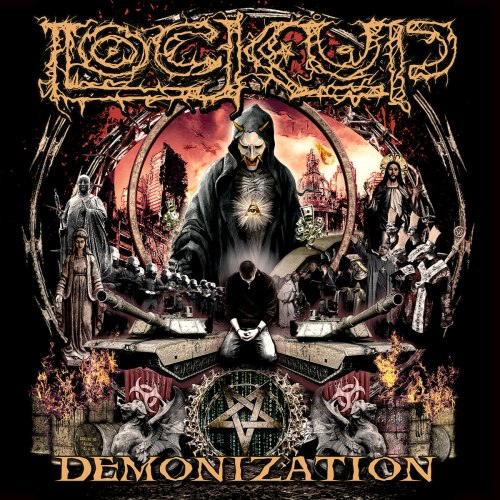 LOCK UP - Demonization CD Grindcore