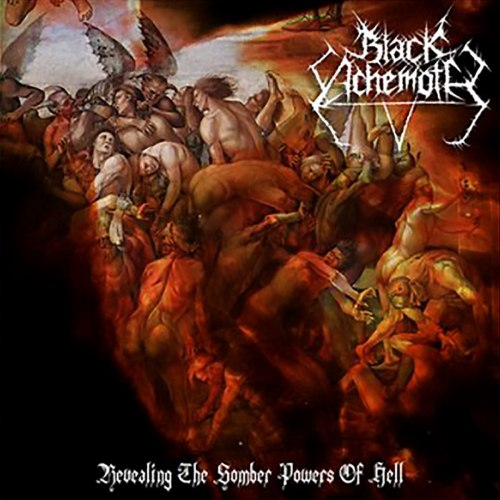 BLACK ACHEMOTH - Revealing The Somber Powers Of Hell CD Black Metal