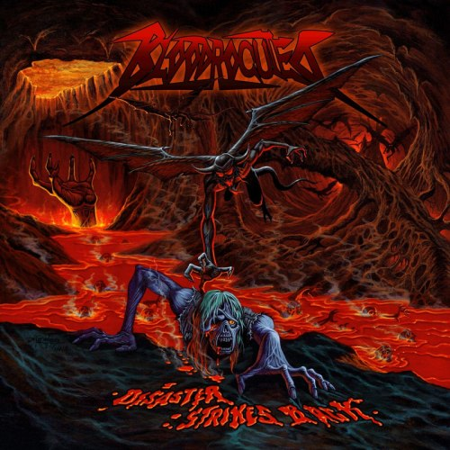 BLOODROCUTED - Disaster Strikes Back CD Thrash Metal