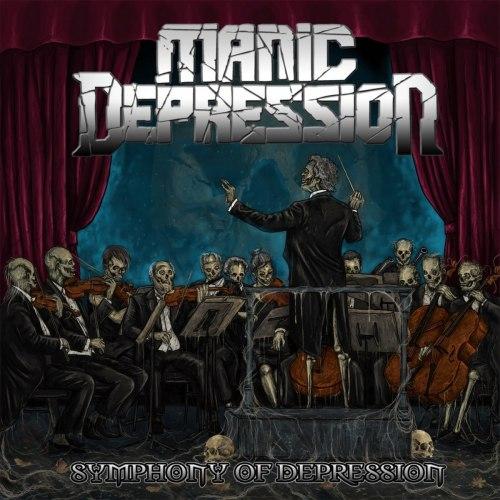 MANIC DEPRESSION - Symphony Of Depression CD Thrash Metal