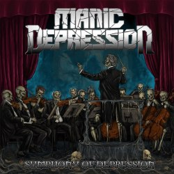 MANIC DEPRESSION - Symphony Of Depression CD Thrash Metal