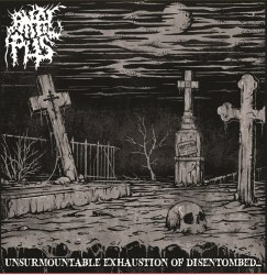 ANAL PUS - Unsurmountable Exhaustion Of Disentombed... Digi-CD Brutal Death Metal