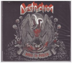 DESTRUCTION - Born to Perish Digi-CD Thrash Metal