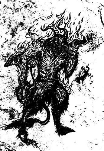 GOAT TERROR - Unholy March Tape Black Metal