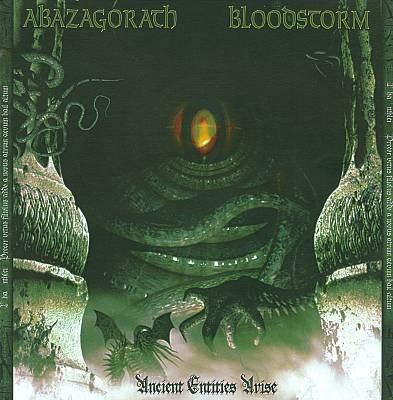 ABAZAGORATH / BLOOD STORM - Ancient Entities Arise CD Black Metal