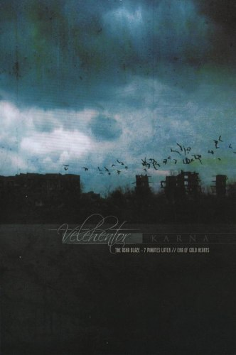 VELEHENTOR / KARNA - The Asha Blaze - 7 Minutes Later // Era Of Cold Hearts A5 CD-box Dark Ambient