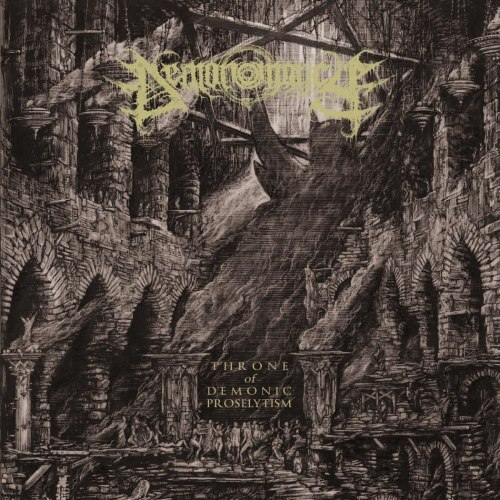 DEMONOMANCY - Throne Of Demonic Proselytism Gatefold LP Black Metal