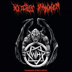WITCHES HAMMER - Canadian Speed Metal LP Speed Thrash Metal