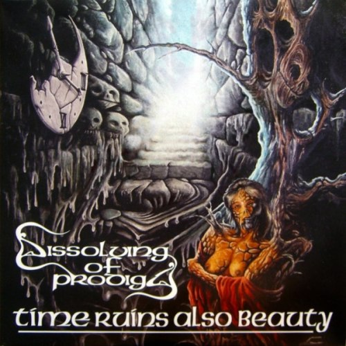 DISSOLVING OF PRODIGY - Time Ruins Also Beauty Gatefold DLP Doom Metal
