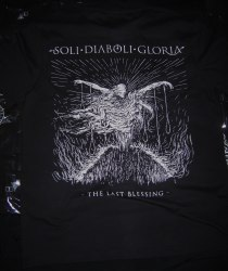 SOLI DIABOLI GLORIA - The Last Blessing - M Майка Black Metal
