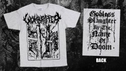 WOMBRIPPER - Godless Slaughter in the Name of Doom - XL Майка Death Metal