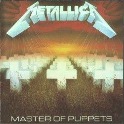 METALLICA - Master of Puppets CD Thrash Metal