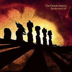 THE GRAND ASTORIA - Deathmarch EP MCD Stoner Metal