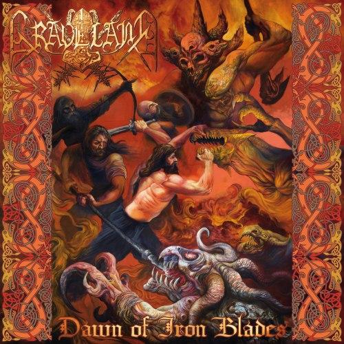 GRAVELAND - Dawn Of Iron Blades 2018 CD Pagan Metal