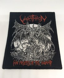 VARATHRON - His Majesty at the Swamp Нашивка Black Metal