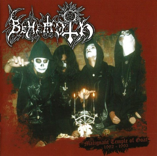 BEHEMOTH - Malignant Temple Of Goat: 1992-1993 CD Black Metal