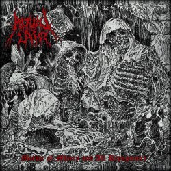 RITUAL LAIR - Mother of Misery and All Repugnance (Diabolo Intervale) MCD Black Metal