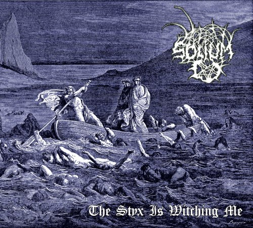 SOLIUM - The Styx Is Witching Me Digi-CD Black Metal