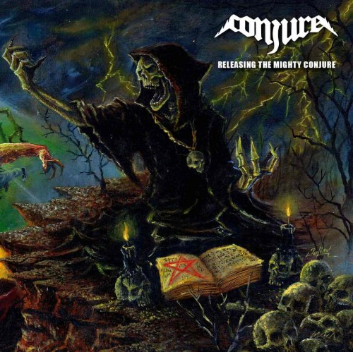 CONJURE - Releasing the Mighty Conjure CD Speed Thrash Metal