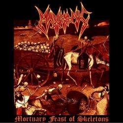 MAYHEMIC - Mortuary Feast Of Skeletons MCD Blackened Thrash Metal