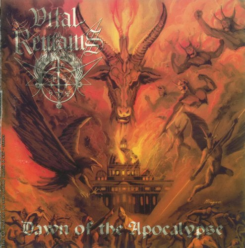 VITAL REMAINS - Dawn Of The Apocalypse CD Death Metal