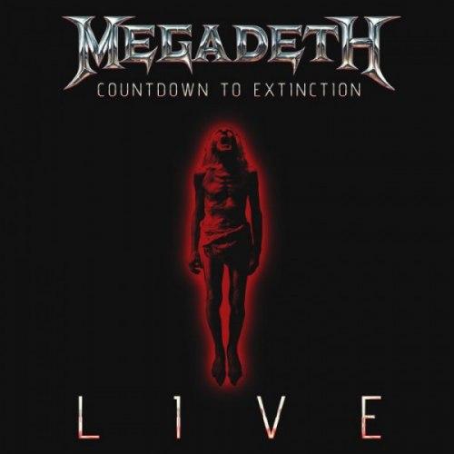 MEGADETH - Countdown To Extinction Live CD Thrash Metal