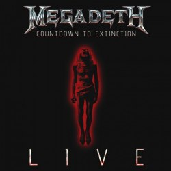 MEGADETH - Countdown To Extinction Live CD Thrash Metal