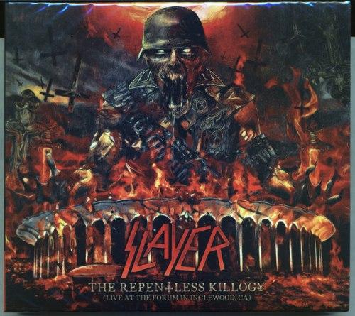 SLAYER - The Repentless Killogy (Live At The Forum In Inglewood, CA) Digi-2CD Thrash Metal