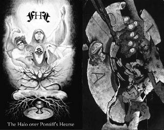 FIRST HUMAN FERRO - The Halo Over Pontiff's Hearse Tape Industrial Ambient