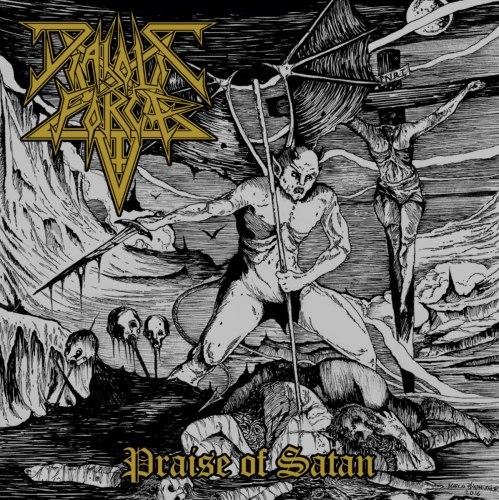 DIABOLIC FORCE - Praise Of Satan CD Black Thrash Metal