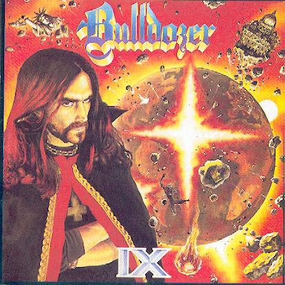 BULLDOZER - IX CD Speed Thrash Metal