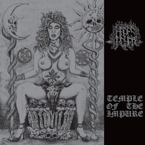 HADES ARCHER - Temple Of The Impure CD Black Metal