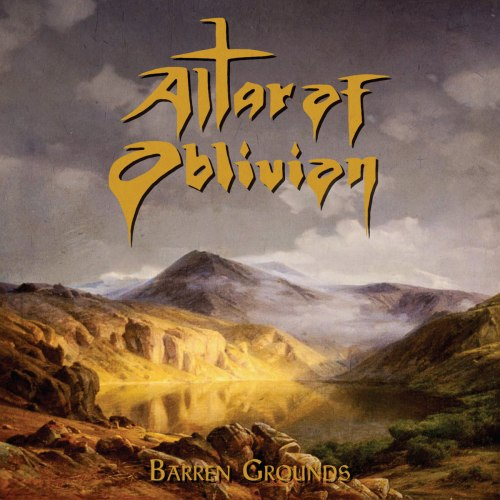 ALTAR OF OBLIVION - Barren Grounds MCD Doom Metal