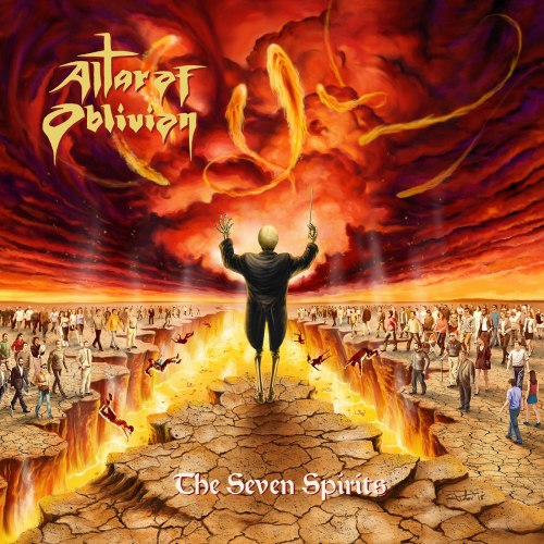 ALTAR OF OBLIVION - The Seven Spirits CD Doom Metal