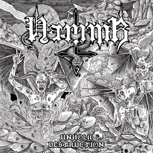 HAMMR - Unholy Destruction CD Black Speed Metal