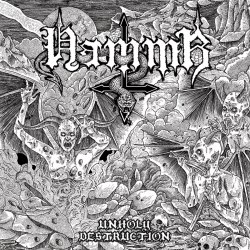 HAMMR - Unholy Destruction CD Black Speed Metal