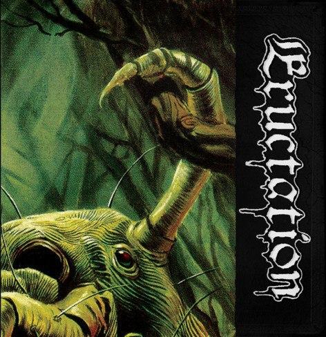 "ERUCTATION - Eructation 7""EP Death Metal"