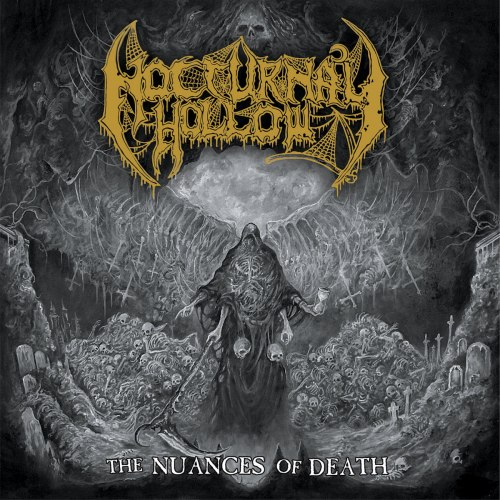 NOCTURNAL HOLLOW - The Nuances Of Death CD Brutal Death Metal