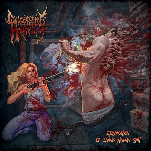 DEVOURING HUMANITY - Eradication Of Living Human Shit CD Brutal Death Metal