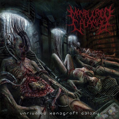 MANIPULATED CALAMITY - Unrivaled Xenograft Colony CD Brutal Death Metal