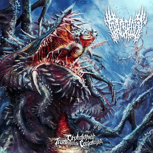 TRACRIOMY - Cephalopodic Transmutual Contamination CD Brutal Death Metal