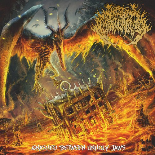INCESTUOUS IMPREGNATION - Gnashed Between Unholy Jaws CD Brutal Death Metal