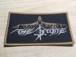 THE STONE - Logo Нашивка Blackened Metal