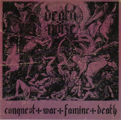 DEATH NOIZE - Conquest War Famine Death CD Blackened Thrash Metal