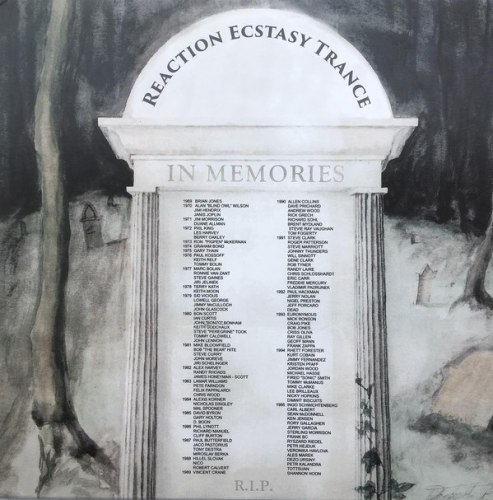 REACTION ECSTASY TRANCE - In Memories CD Death Doom Metal
