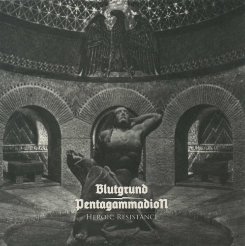 "BLUTGRUND / PENTAGAMMADION - Heroic Resistance 7""EP NS Metal"