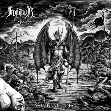 HODUR - Salve Satanas LP Black Metal