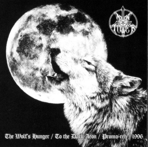 MOONTOWER - The Wolf's Hunger / To The Dark Aeon / Promo-reh / 1996 LP Black Metal