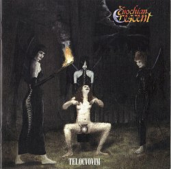 ENOCHIAN CRESCENT - Telocvovim CD Blackened Metal